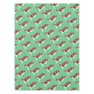 Liver English Springer Spaniel Tablecloth