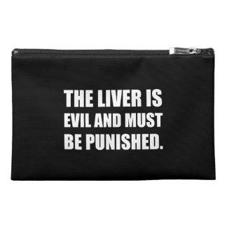 Liver Evil Must Be Punished Travel Accessory Bag