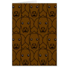 Liver German Shorthaired Pointers Card