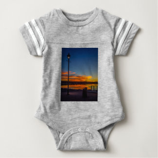 Liverpool Bay Sunset Baby Bodysuit
