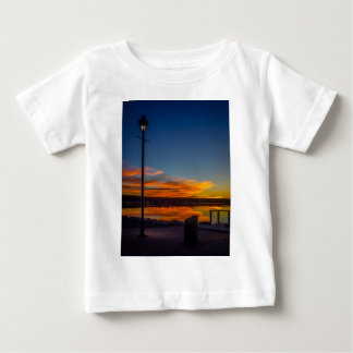 Liverpool Bay Sunset Baby T-Shirt