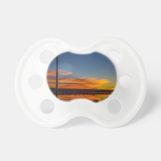 Liverpool Bay Sunset Pacifier