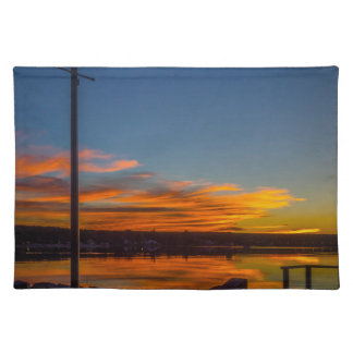 Liverpool Bay Sunset Placemat