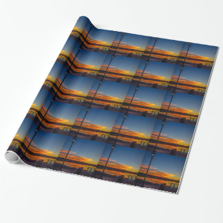 Liverpool Bay Sunset Wrapping Paper