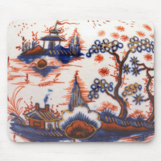 Liverpool Chinese landscape, circa 1775 Mouse Pad