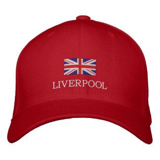 Liverpool City Hat - United Kingdom Flag Cap Embroidered Baseball Caps