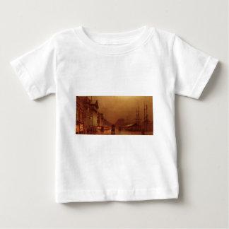 Liverpool Customs House by John Atkinson Grimshaw Baby T-Shirt