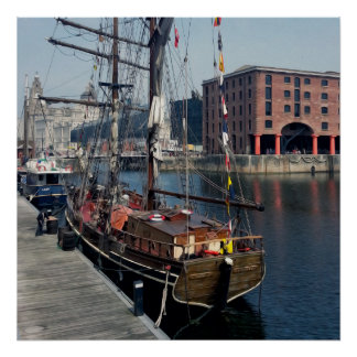 Liverpool Docklands Poster