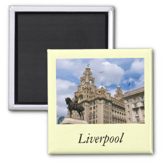 Liverpool - Liver Building Magnet