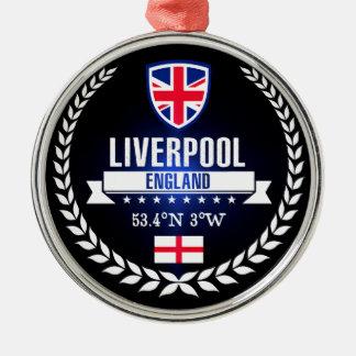 Liverpool Metal Ornament