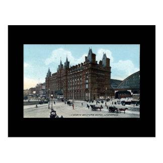 Liverpool, North Western Hotel Postcard