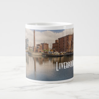 Liverpool Salthouse Dock Merseyside Travel Photo Large Coffee Mug