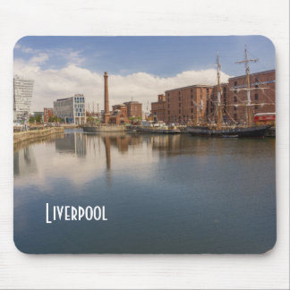 Liverpool Salthouse Dock Merseyside Travel Photo Mouse Pad