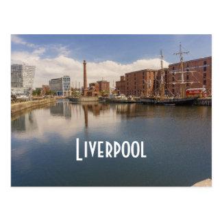 Liverpool Salthouse Dock Merseyside Travel Photo Postcard