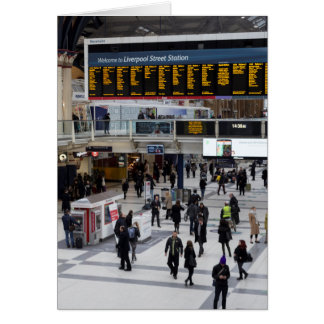 Liverpool Street Station London Card