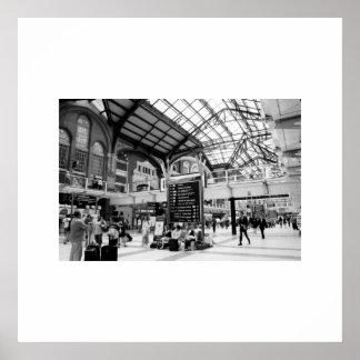Liverpool Train Station Print
