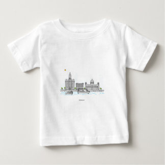 Liverpool Waterfront Baby T-Shirt
