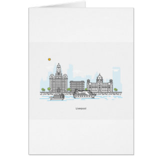 Liverpool Waterfront Card