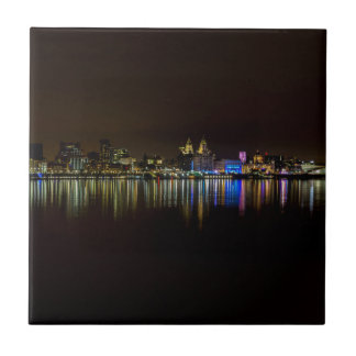 Liverpool Waterfront Ceramic Tile
