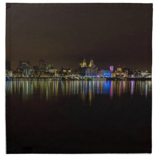 Liverpool Waterfront Napkin