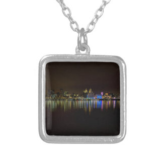 Liverpool Waterfront Silver Plated Necklace