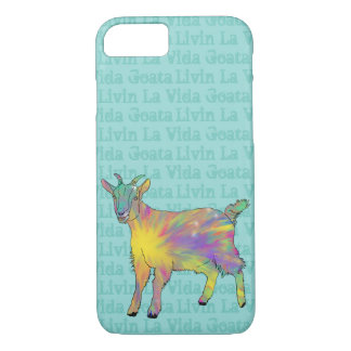 Livin La Vida Goata Funny Goat Animal Art Design iPhone 8/7 Case