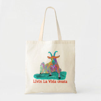 Livin La Vida Goata Funny Screaming Goat Design