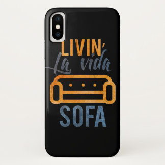 Livin' la vida sofa Case-Mate iPhone case