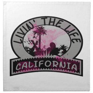 Livin The California Life Cloth Napkins