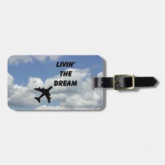 Livin' the Dream ID tag