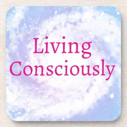 Living Consciously Coaster