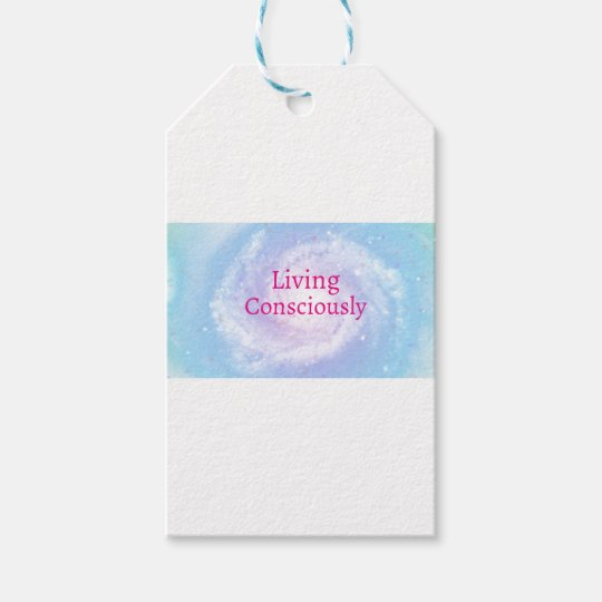 Living Consciously Gift Tags