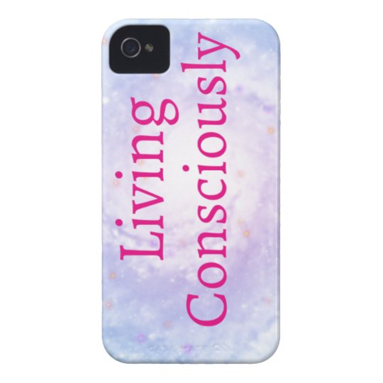 Living Consciously iPhone 4 Case