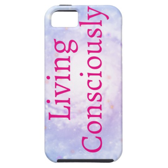 Living Consciously iPhone 5 Covers