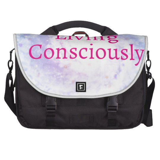 Living Consciously Laptop Commuter Bag