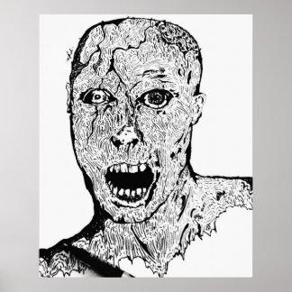 Living Dead Sketch Poster