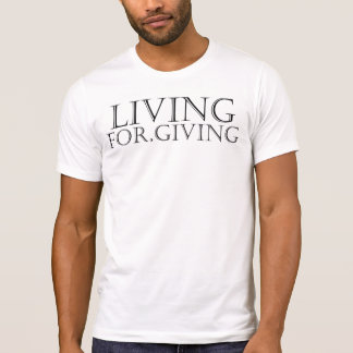 """Living For.Giving"" by Michael Crozz T-Shirt"
