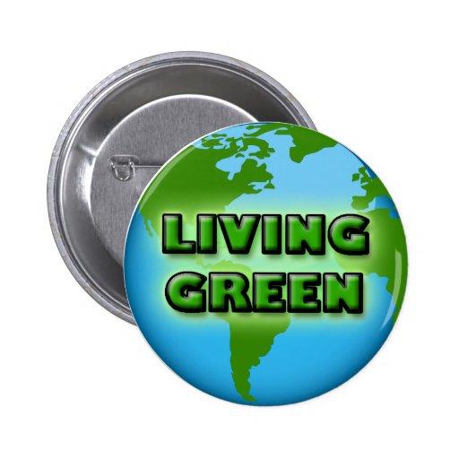 LIVING GREEN EARTH PIN