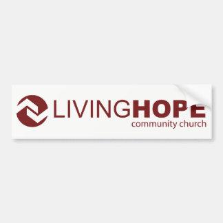 Living Hope Bumper Sticker