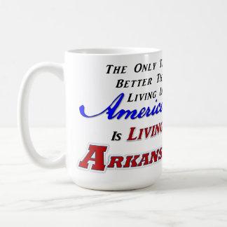 Living In Arkansas! 15 oz Classic Mug