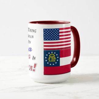 Living In Georgia! 16 oz Combo Mug