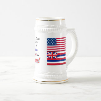 Living In Hawaii! 22 oz Stein
