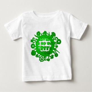 Living In My Own Green World Shirts