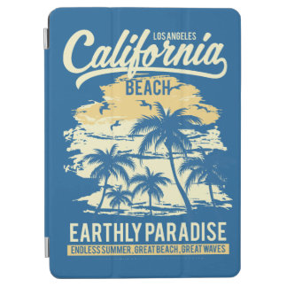 Living in Paradise Endless Summer California Beach iPad Air Cover