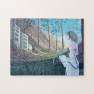 Living in the woods jigsaw puzzle