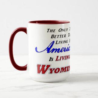 Living In WY, 15 oz Combo Mug