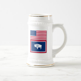 Living In WY, 22 oz Stein