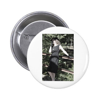 Living it Up in Style Pinback Button