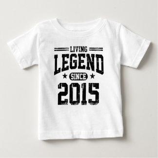 Living Legend Since 2015 Baby T-Shirt