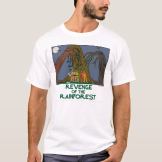 Living planet. Mother Nature. Plant a tree. Earthy T-Shirt